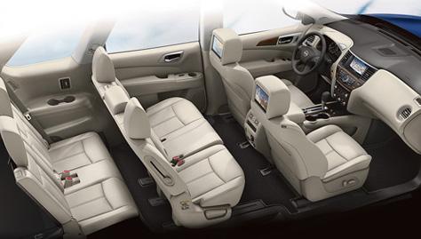 2017 Nissan Pathfinder NISSANCONNECT SERVICES