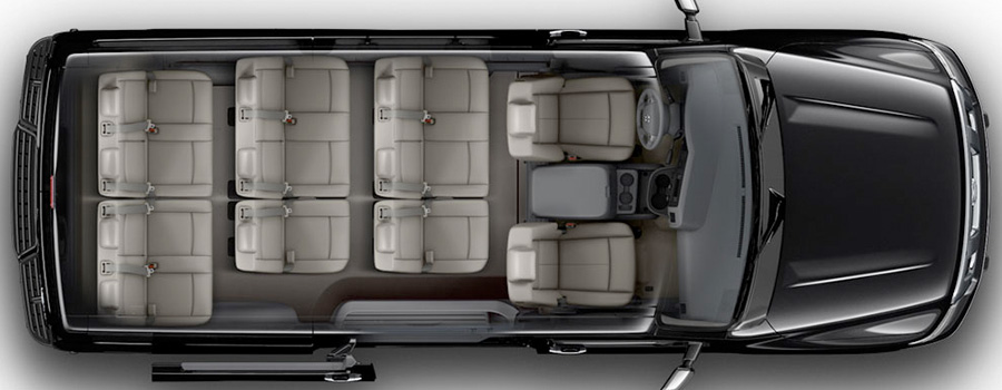 INTERIOR 2017 Nissan NV Passenger Increase Your Flexibility