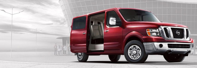 2020 NISSAN NV Passenger Van  header