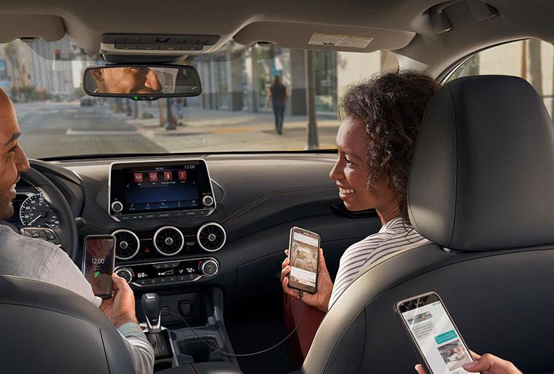 2021 Nissan Sentra TECHNOLOGY
