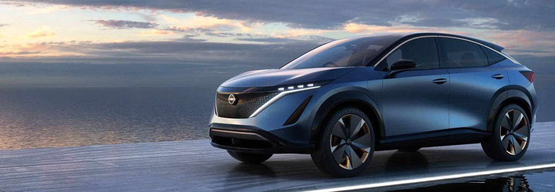 2021 Nissan Ariya Concept  Coming Soon header
