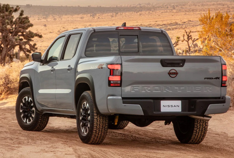 2022 Comping soon Nissan Frontier  This truck never takes weekends off