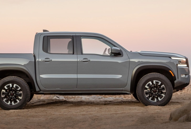 2022 Comping soon Nissan Frontier  refined  When your truck was raised by wolves