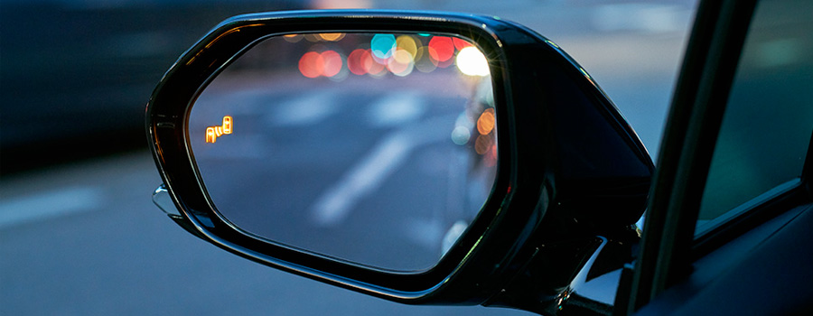 2017 Toyota Prius Prime Blind Spot Monitor