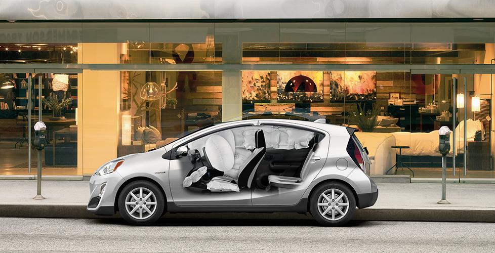 2017 toyota Prius c Toyota Safety