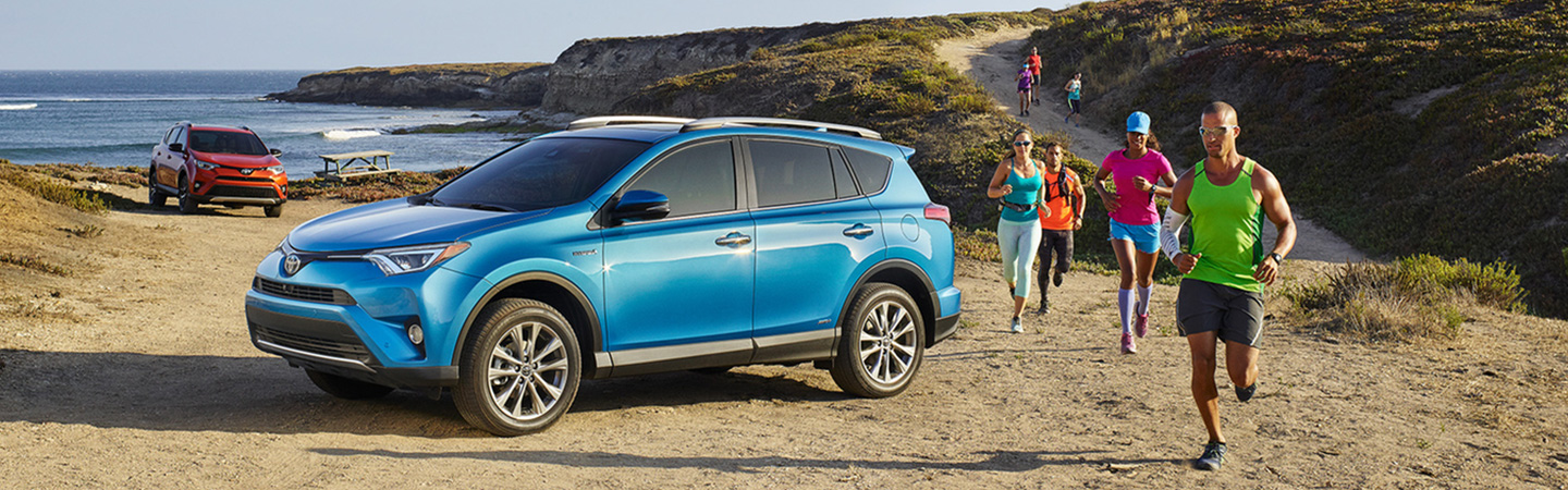 2017 Toyota RAV4 Hybrid Improved exterior styling