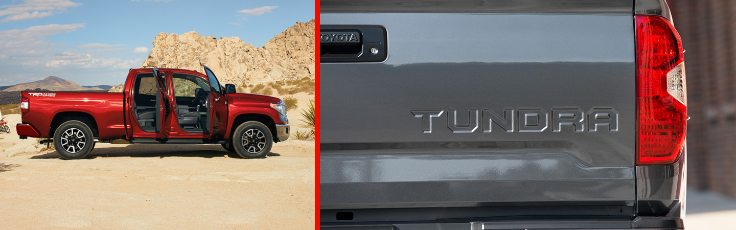 2017 Toyota Tundra Improved exterior styling