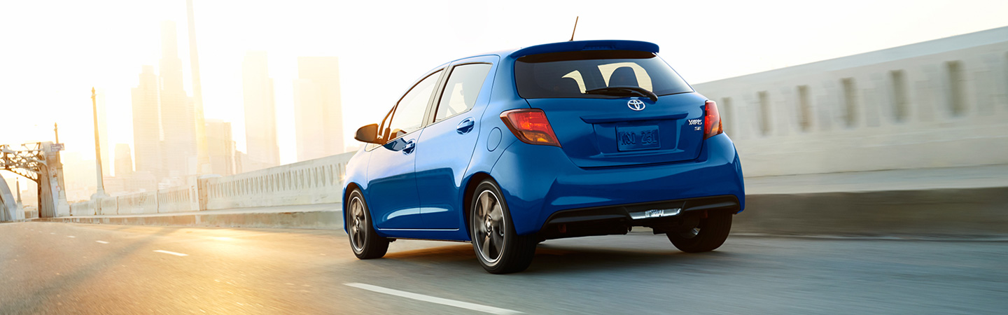 2017 Toyota Yaris Improved exterior styling
