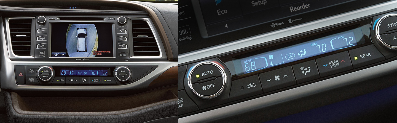 2017 Toyota Highlander Hybrid Standard Toyota Technology™ P (TSS-P)