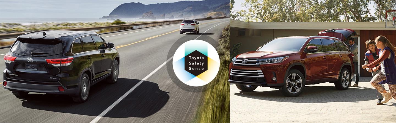 2017 Toyota Highlander Standard Toyota Safety Sense™ P (TSS-P)