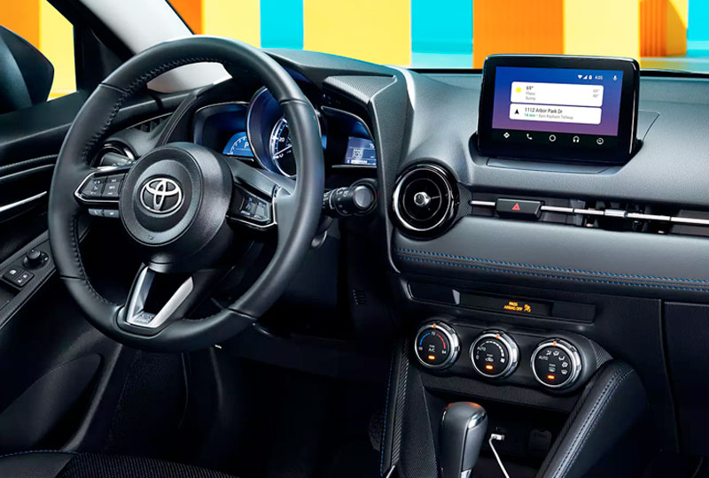 2020 Toyota Yaris Hatchback Tech