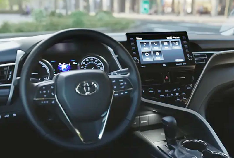 2021 Toyota Camry Coming Soon interior