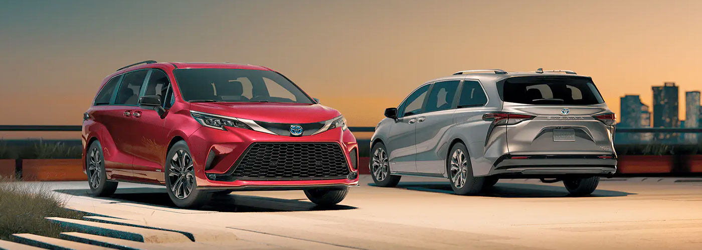 2021 Toyota Sienna  Prime Coming Soon header