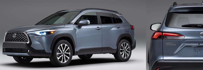 2022 Toyota Corolla Cross  Coming Soon header