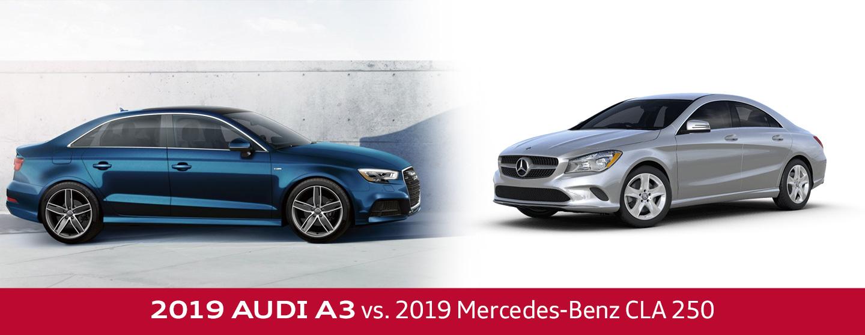 2019 Audi A3 Vs 2019 Mercedes Benz Cla 250 In Fort Washington Pa