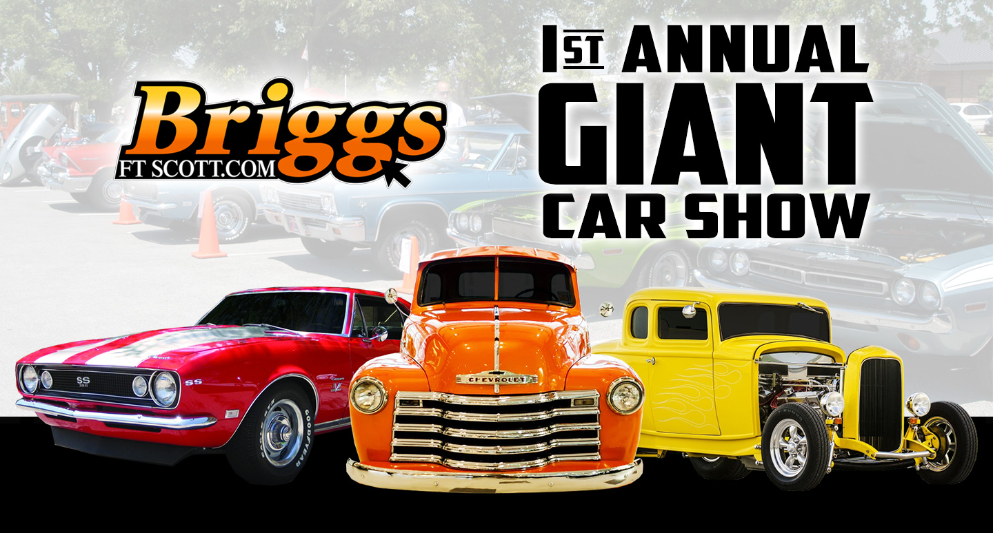 Annual Giant Car Show In Fort Scott KS - Car show giveaways