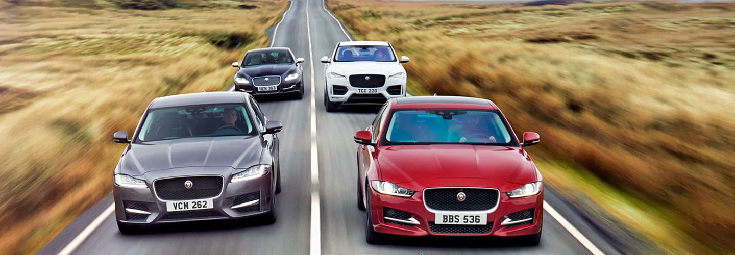Jaguar  Brand Header