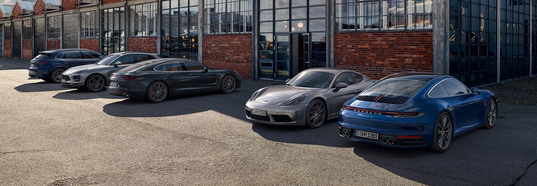 Porsche  Brand Header
