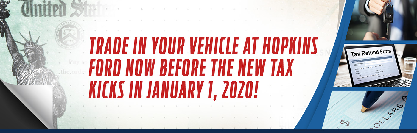 Trade In Your Vehicle At Hopkins Ford