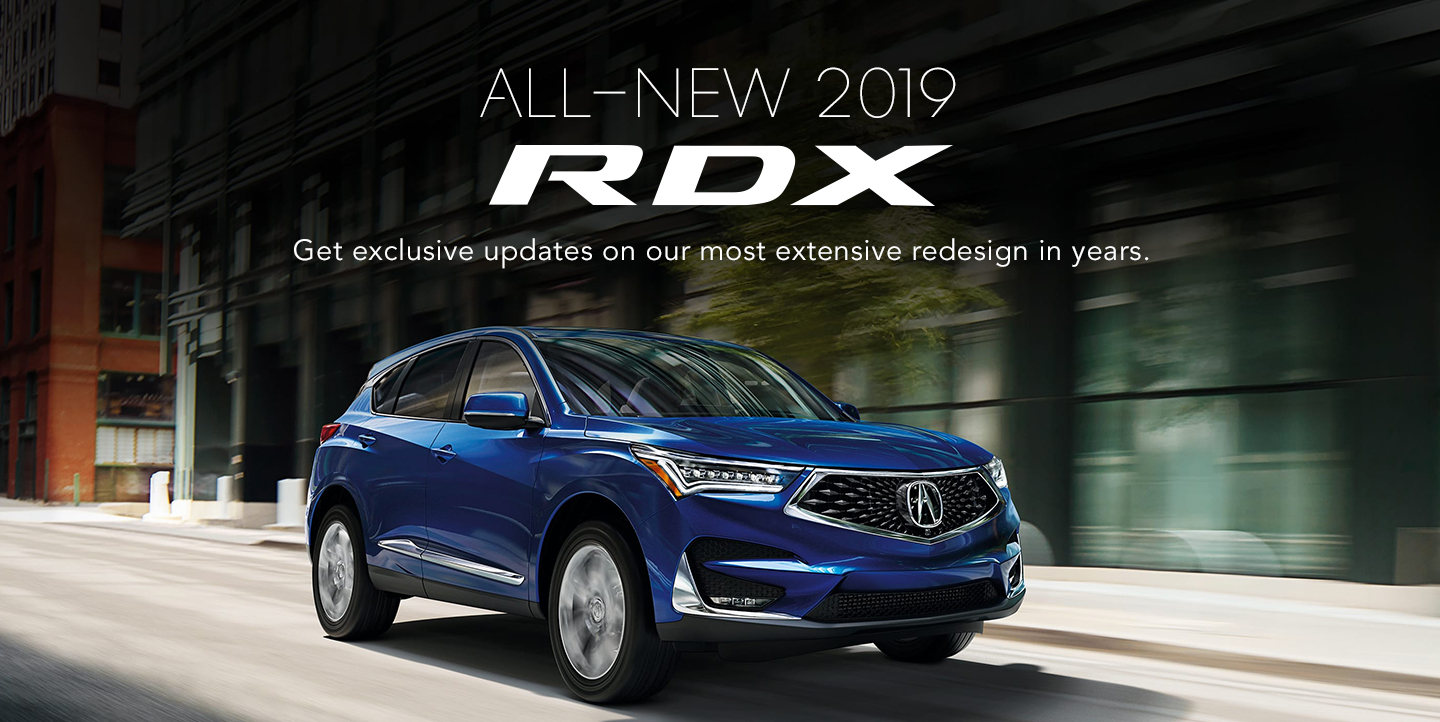 All New 2019 Acura Rdx At Miami Acura In Miami Fl