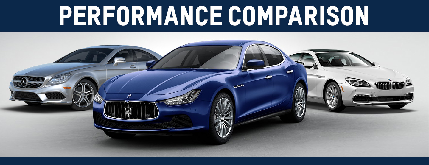 Performance Comparison Maserati Of Jacksonville