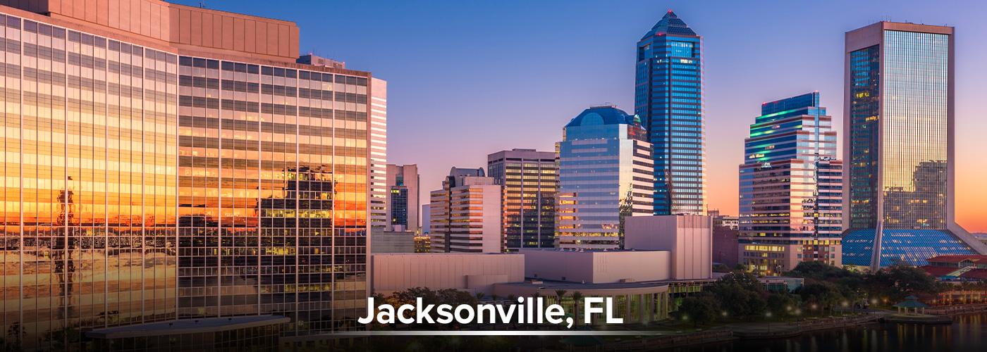jacksonville, FL City Page Header