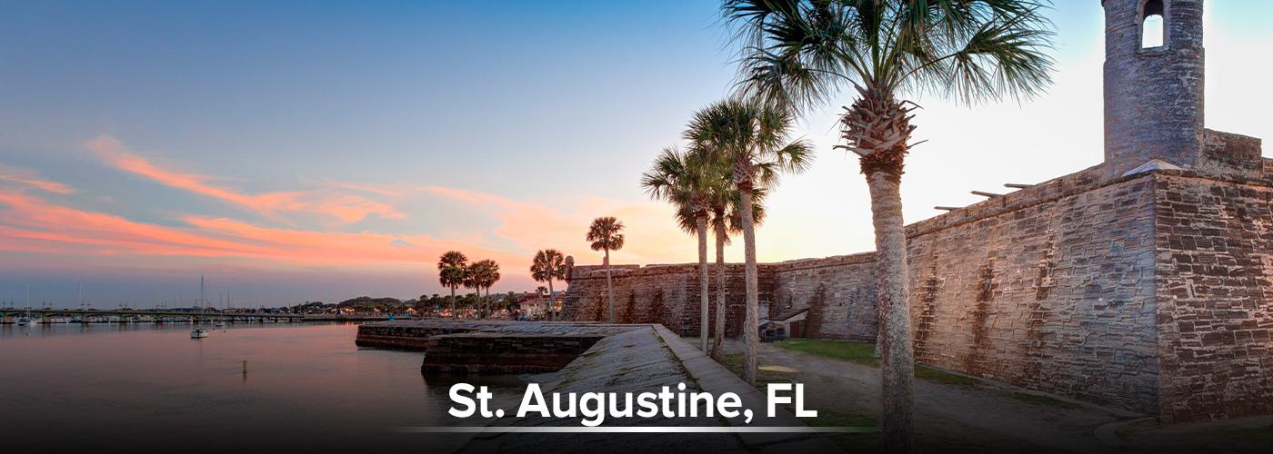 ST. Augustine, FL City Page Header
