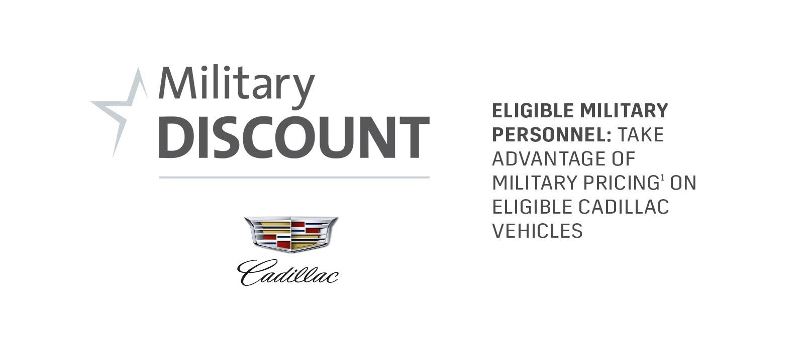 cadillac military discount in mt laurel nj serving cherry hill nj philadelphia pa. Black Bedroom Furniture Sets. Home Design Ideas