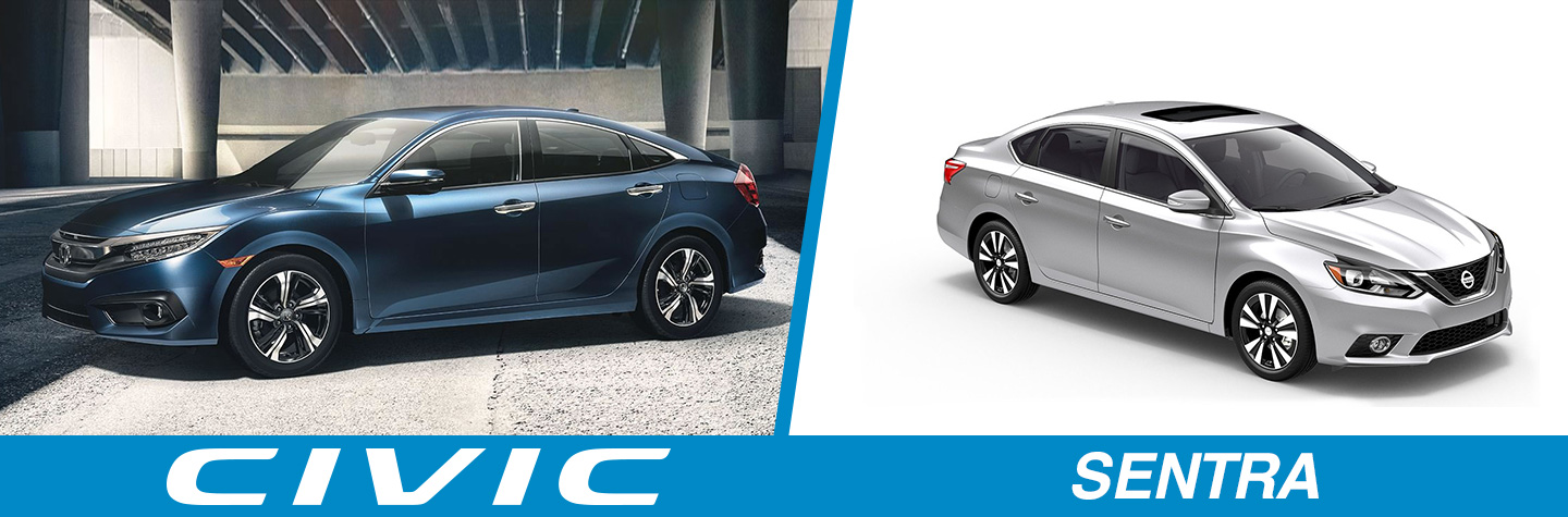 2018 Honda Civic Vs. 2018 Nissan Sentra In Levittown, NY, Serving Long  Island