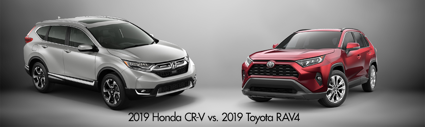 2019 Honda CR-V vs  2019 Toyota RAV4 in Fort Lauderdale, FL