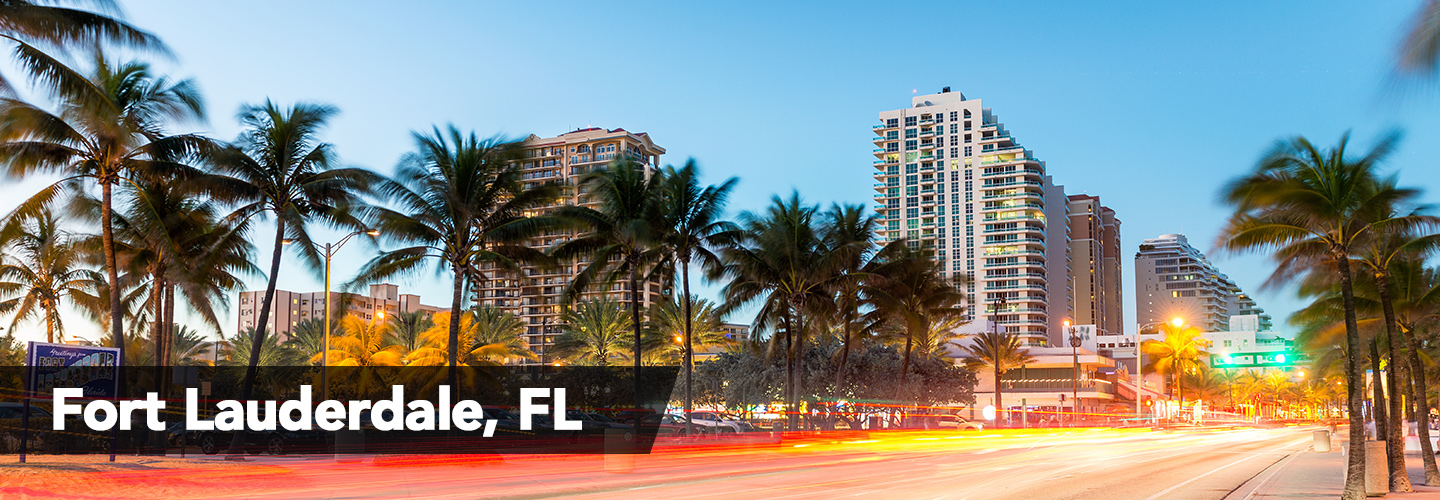 fort lauderdale city page header