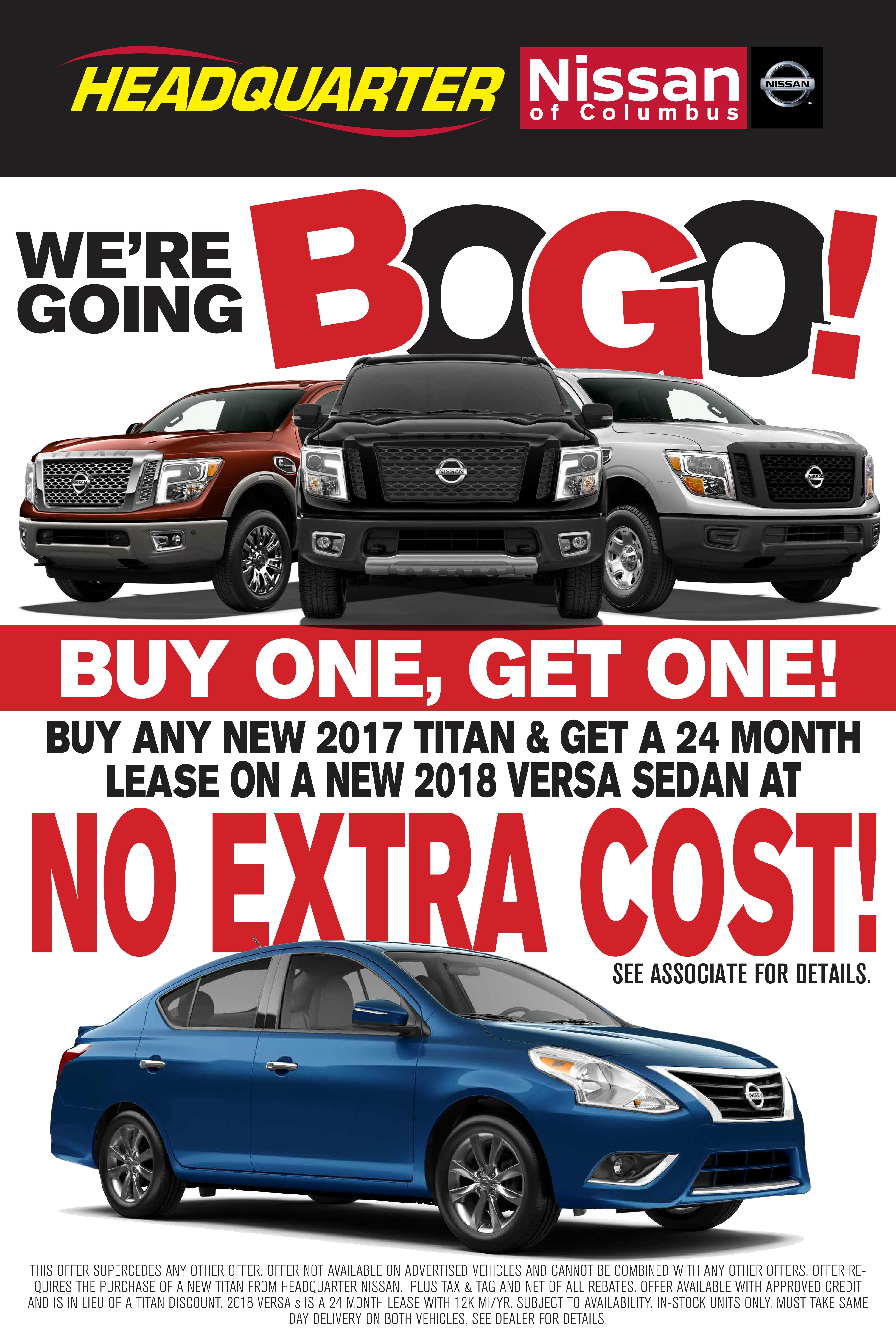 Bogo Car Deals