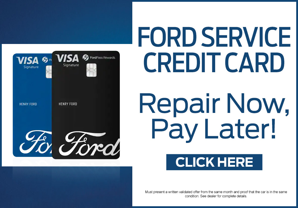 Ford service credit card