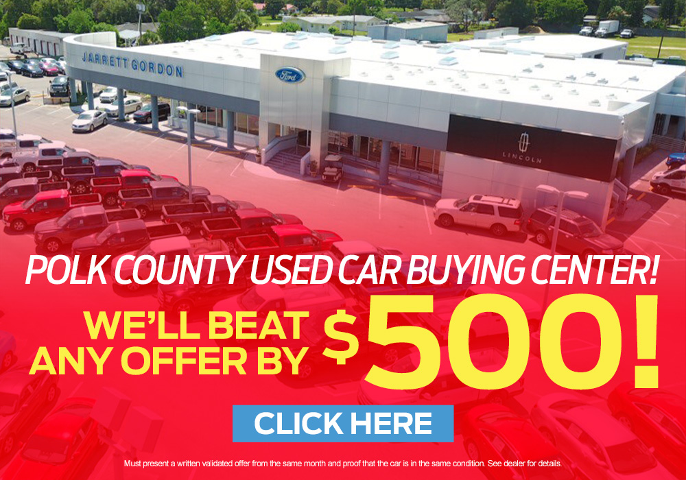Polk County used car buying center
