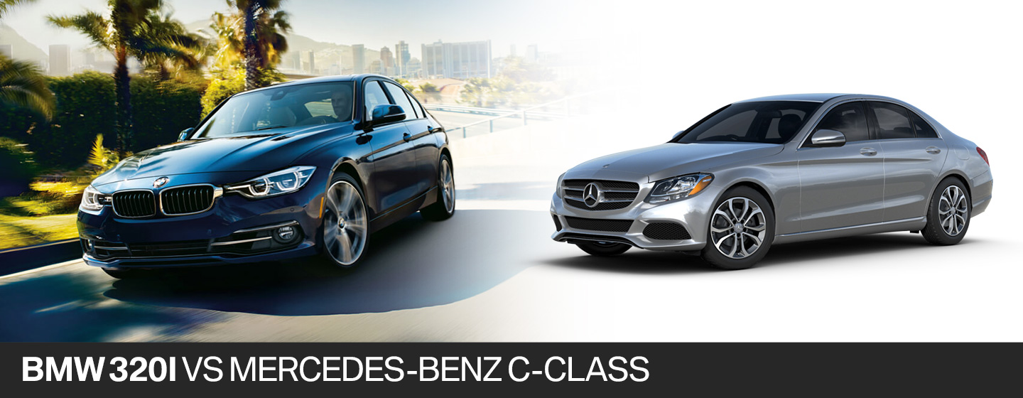 2018 bmw 320i vs 2018 mercedes benz c class in fort for Mercedes benz fort lauderdale fl