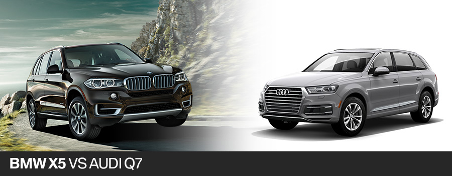 2017 BMW X5 vs 2017 Audi Q7 Fort Lauderdale FL