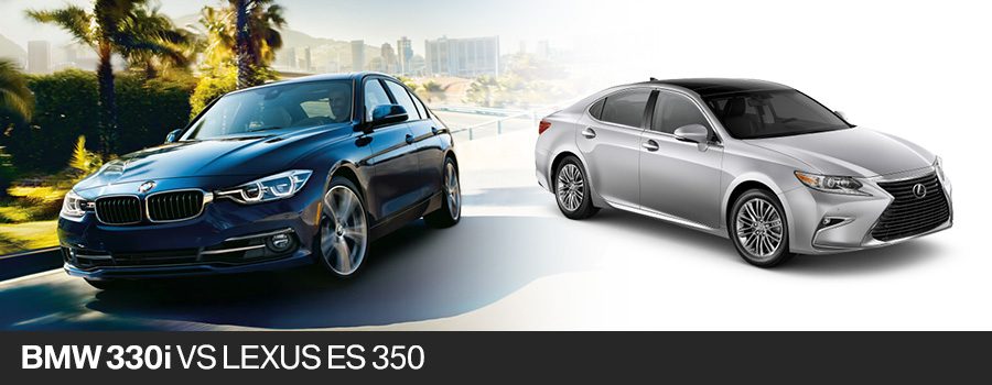 2017 BMW 330i Sedan vs. 2017 Lexus ES 350 Sedan in Pembroke Pines, FL