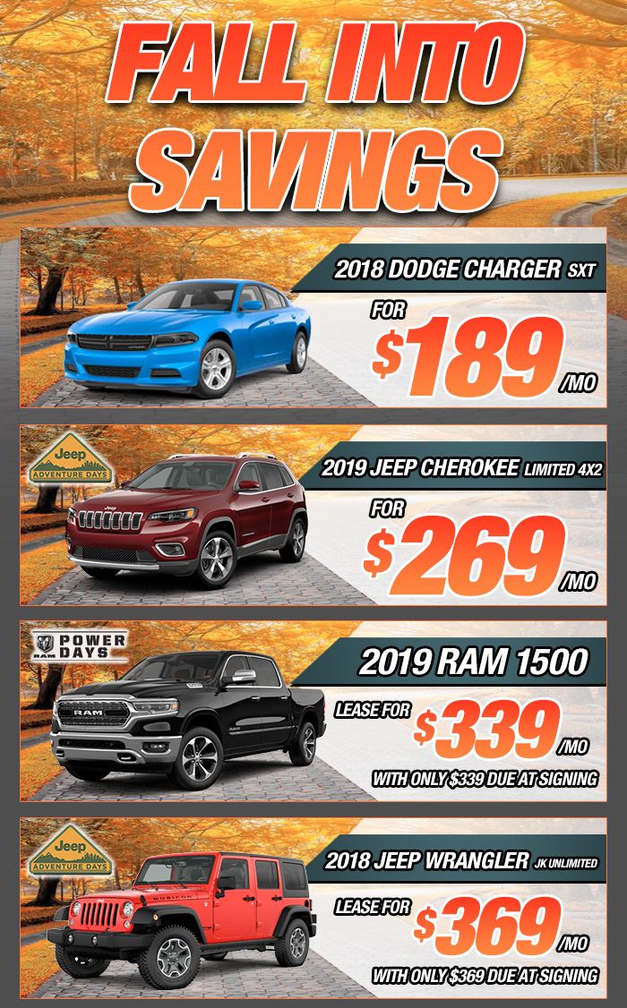 Wonderful Fall Into Savings In Buford, GA | Mall Of Georgia Chrysler Dodge Jeep Ram