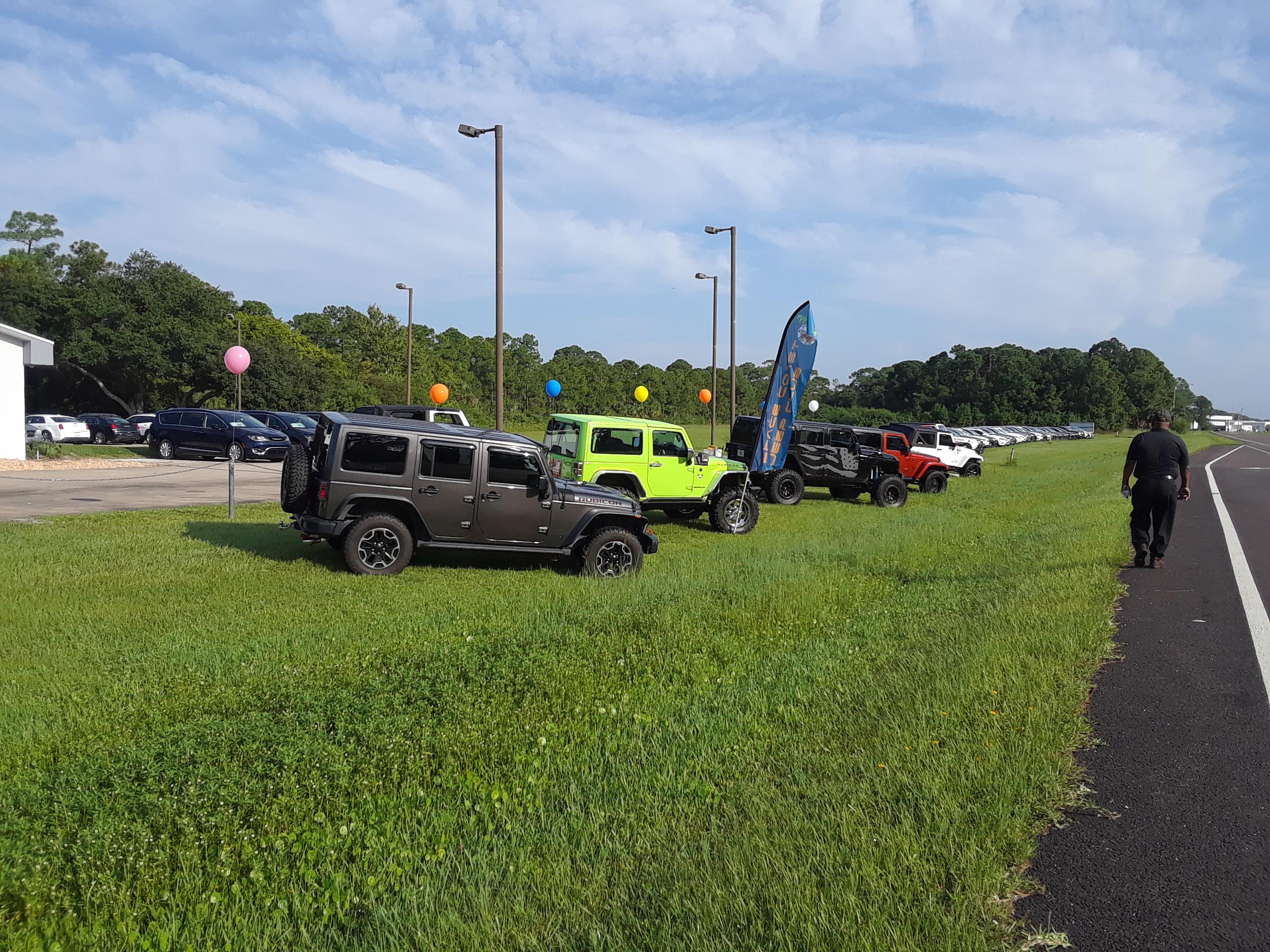 jeep day pics