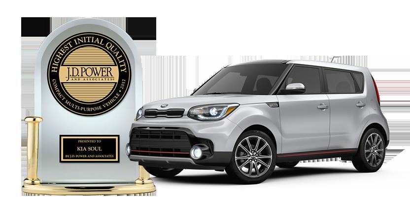 KIA J.D. Power Award