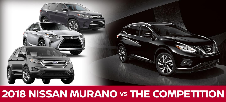 Nissan Murano Vs  Toyota Highlander  Ford Edge  Lexus Rx  In Slidell La
