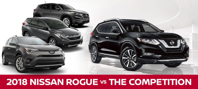 2018 Nissan Rogue Vs. 2018 Hyundai Tucson, 2018 Honda CR V, U0026 2018 Toyota  RAV4 In Slidell, LA