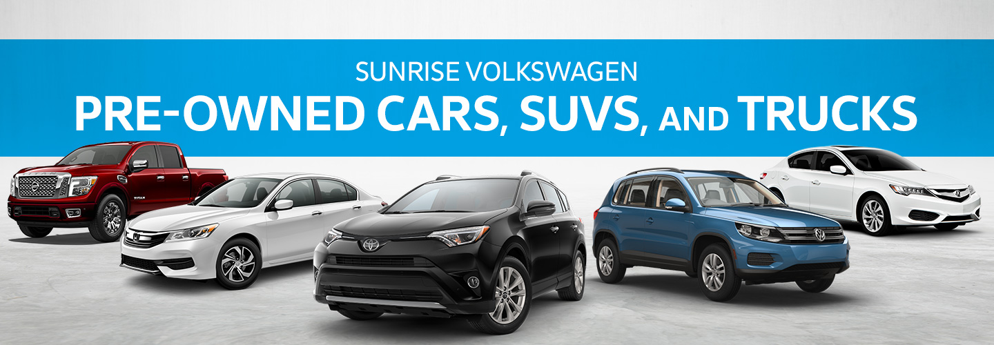 sunrise volkswagen pre owned inventory