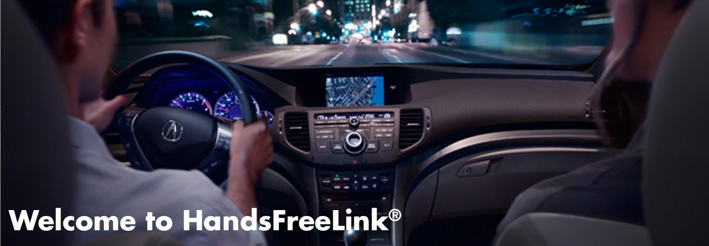 Acura Hands Free link header