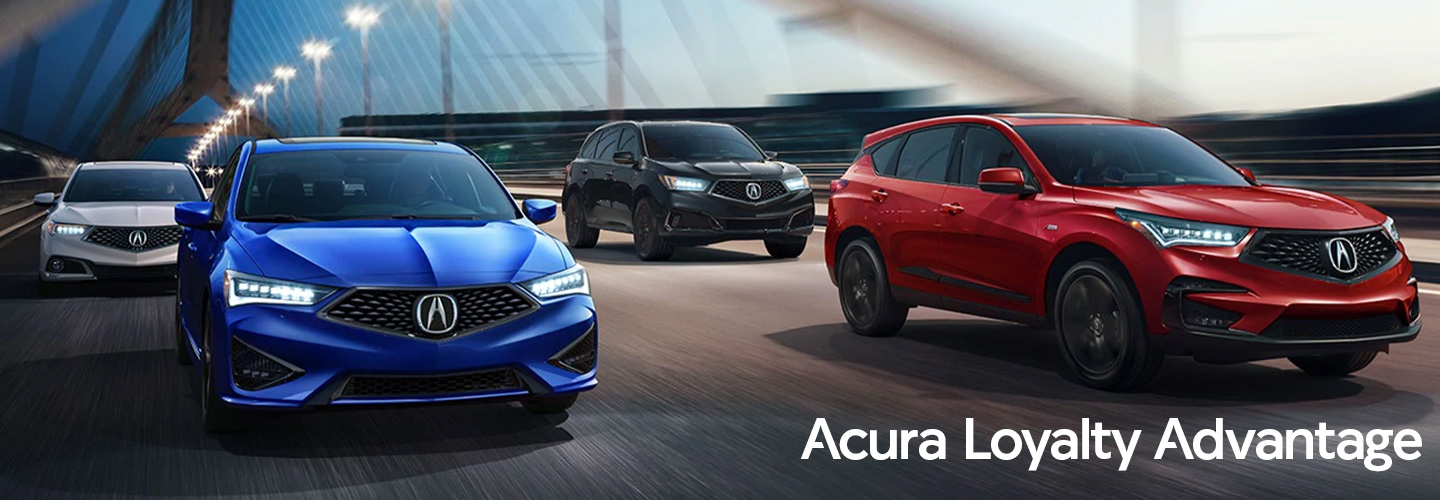 Acura Loyalty Advantage header