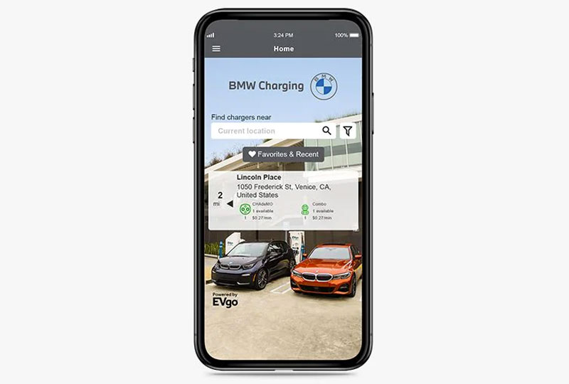 BMW Plugin-Hybrid-Electric- On-the-go charging.