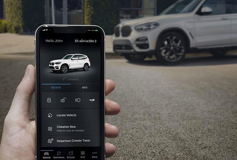BMW Plugin-Hybrid-Electric- A digital link.