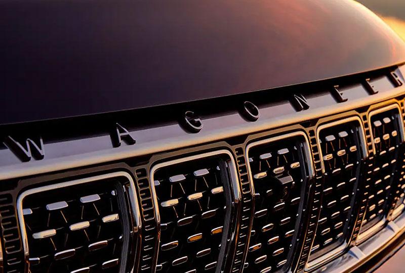 2022 Jeep Grand Wagoneer - Wagoneer Front Badge
