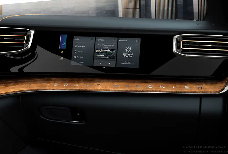 2022 Jeep Grand Wagoneer - Advanced Technology