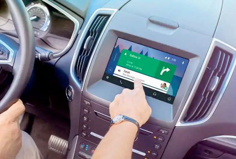 SYNC® 3 SYNC® 3 plus Android Auto™ Compatibility